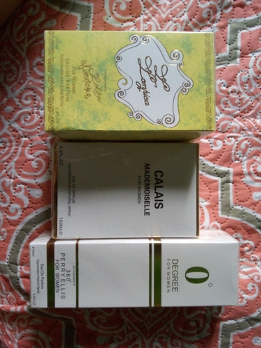 3 perfume de mujer 45$