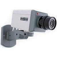 3 piezas camara de seguridad falsa detector movimiento - Camaras de seguridad falsas ...