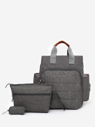 3 piezas multi funcional mamá bolsas