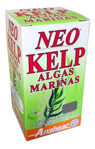 (3 piezas) neo kelp (90 caps) anáhuac