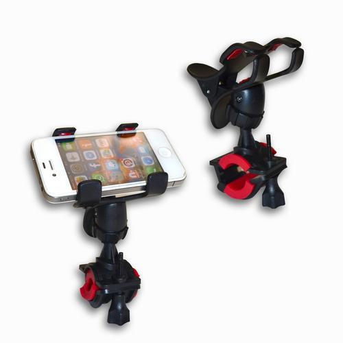 3 piezas soporte de bicicleta para celular