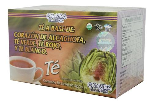 (3 piezas) té alcachofa (30 sobres) gn+vida