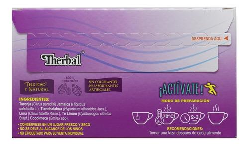 (3 piezas) té samadhi plus (25 sobres) therbal