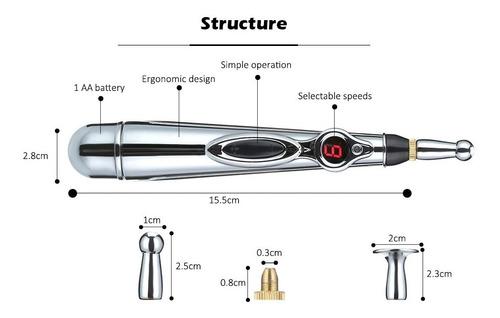 3 plumas acupuntura meridianos eléctricos paralisis mayoreo