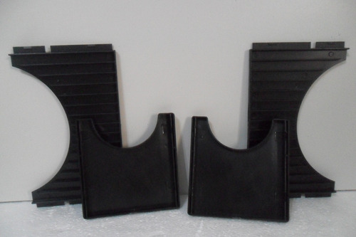 3 porta cd modular - cd box 15 - organizador p/ 15 cds