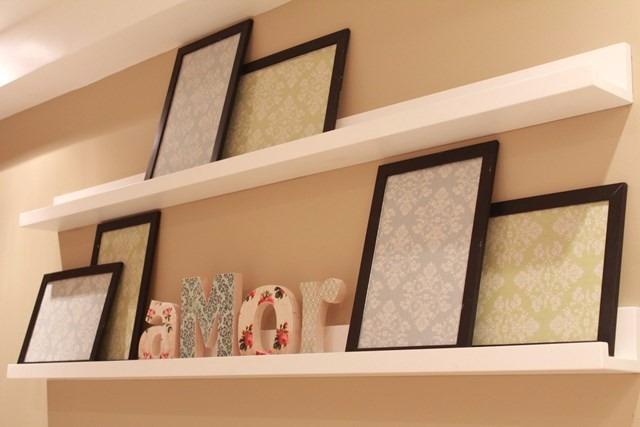 3 prateleiras de parede 1 0m p quadros fotos e livros. Black Bedroom Furniture Sets. Home Design Ideas