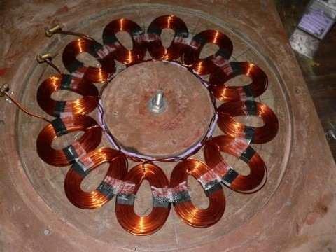 3 projetos gerador eólico - 5.500w + 3.000w + 1000w