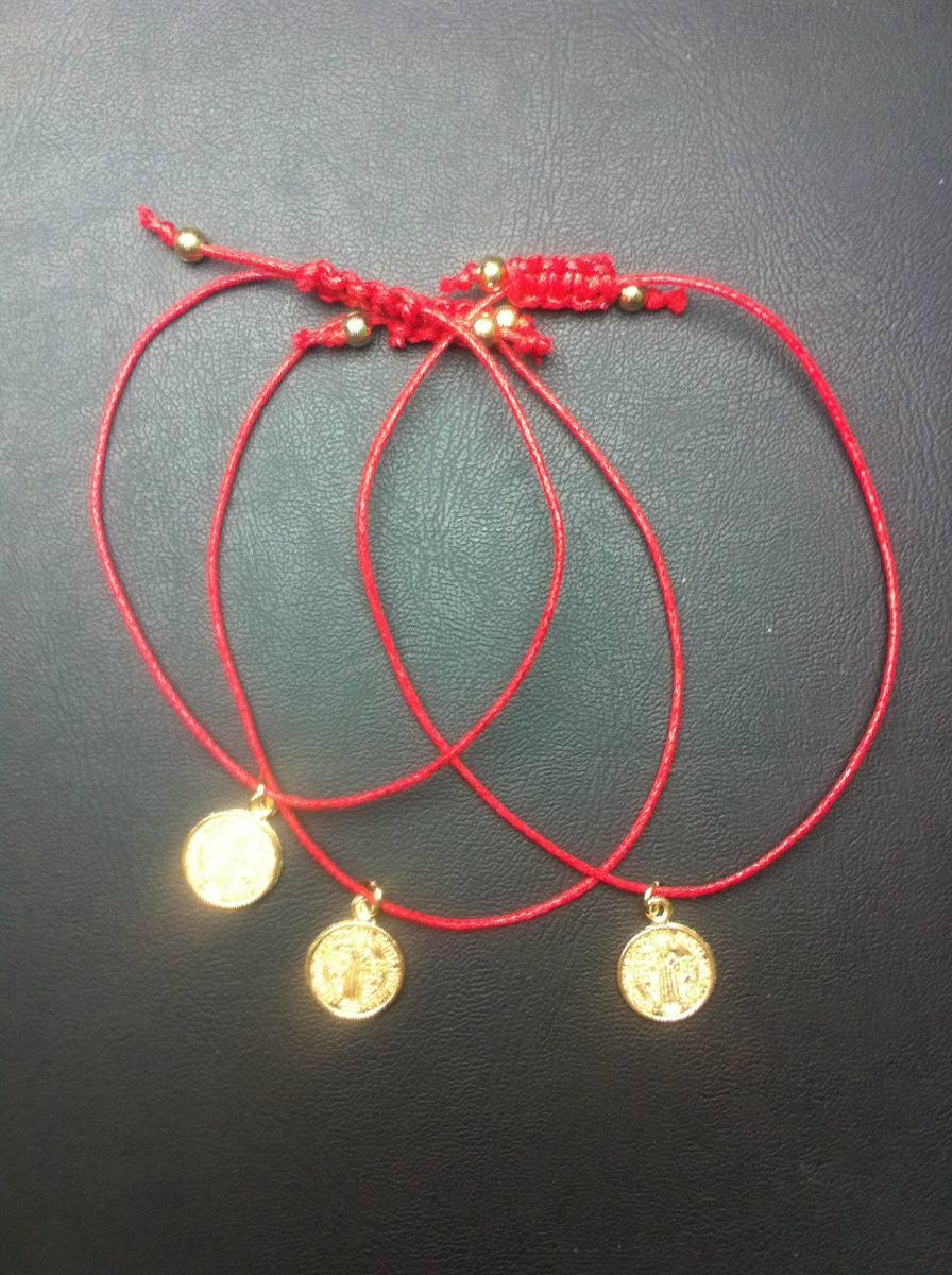 3 pulseras hilo rojo hilo de destino hilo benito for Tipos de pulseras