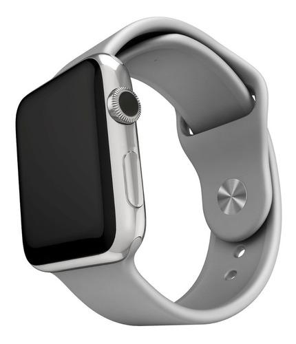 3 pulseras silicona compatible con apple watch medida 42/44