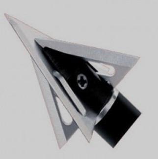 3 puntas de caceria  razor edge cuchilla doble fija