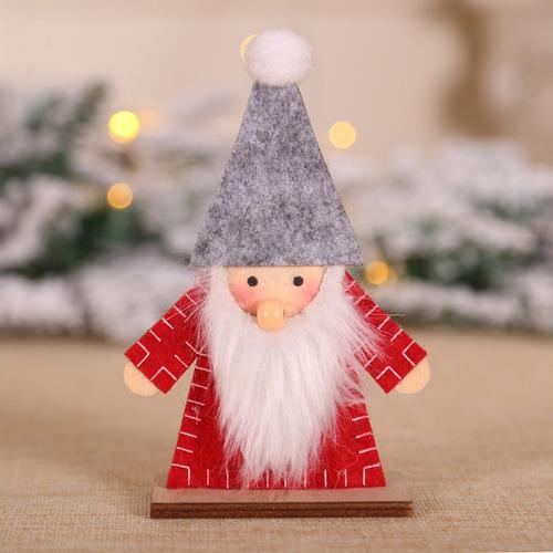 3 pz decoraciones navideñas con delicados diseños