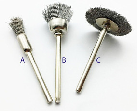 Dremel 405 cepillo de alambre D = 3,2 mm