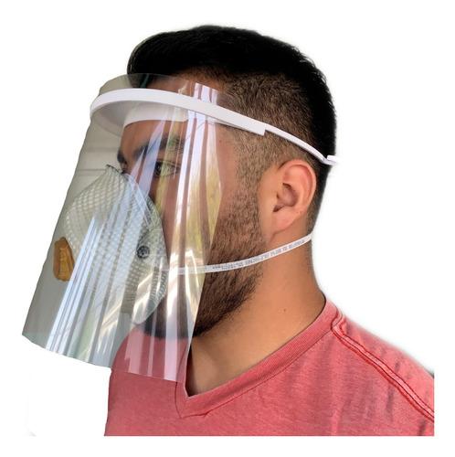3 pza careta medica protector facial mascarilla face shield