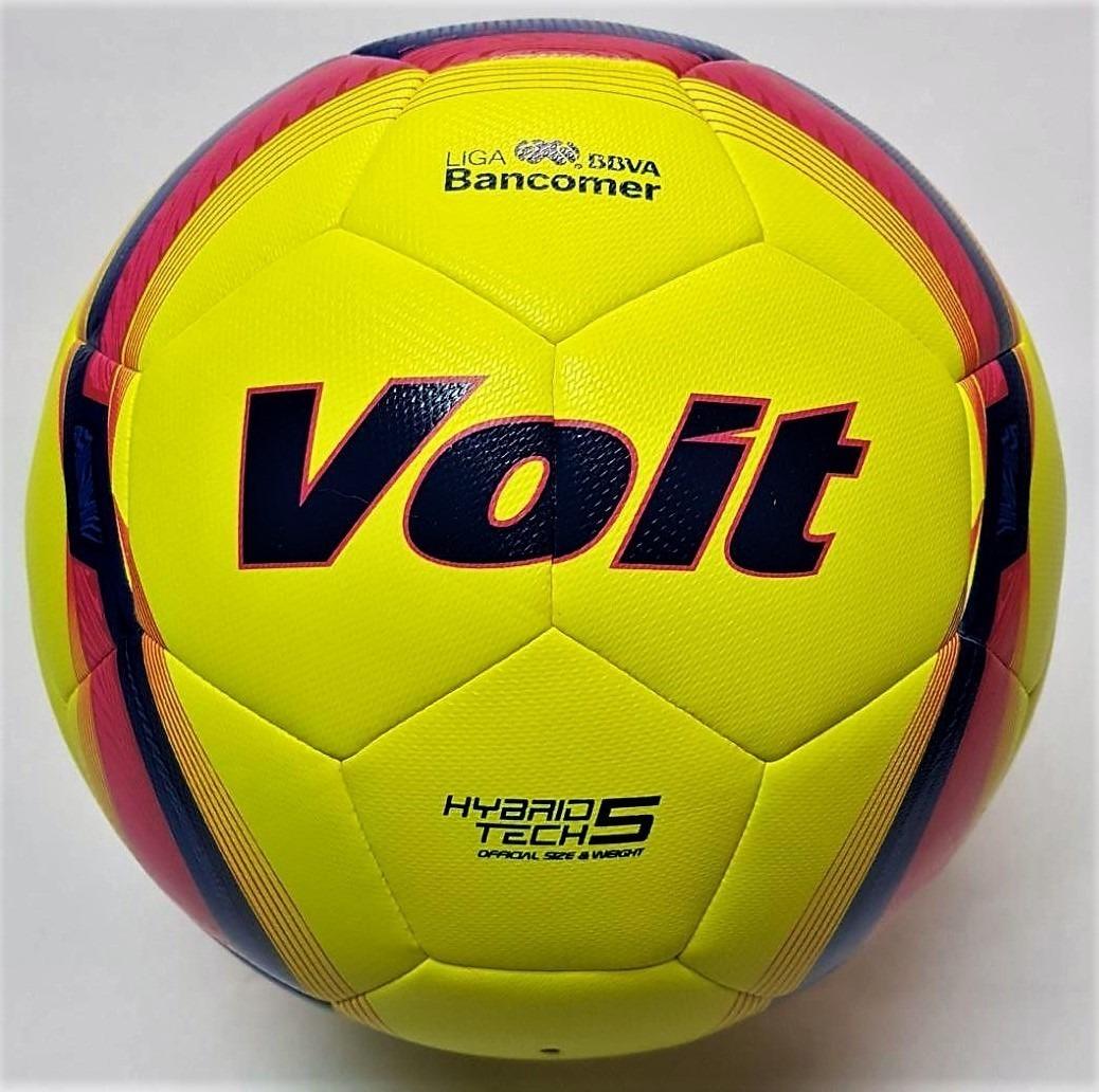 3 Pzas Balón Fútbol Voit Hibrido Clausura 2018 Replica  4 -   1 8cb6c1bd1a92b