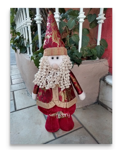 3 pzas muñeco chico de navidad estirables a 2 alturas