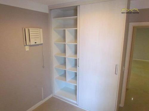 3 quartos + home office, de frente para o mar - ap2013