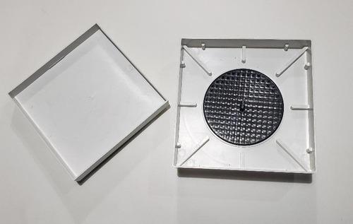 3 ralos 15x15 invisível oculto anti inseto/ odor inteligente