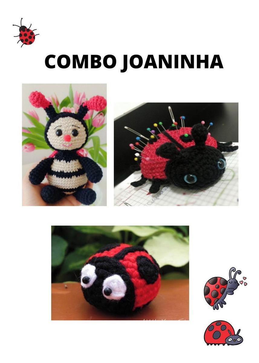 Amigurumi Joaninha +de 40 Modelos para Inspirar – Amigurumi Brasil | 1200x857