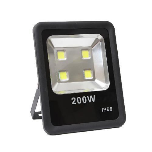 3 refletor holofote led 200w luz branca l&d c frete s juros