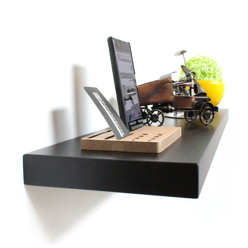 3 repisas flotantes minimalistas modernas decorativa 120x20