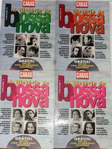 3 revistas a história da bossa nova caras ed. especial