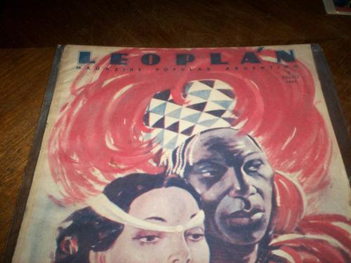 3 revistas antiguas de coleccion  leoplan