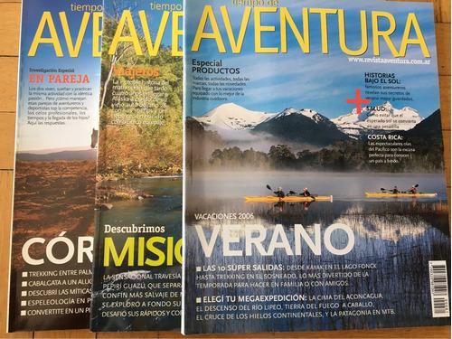 3 revistas aventura