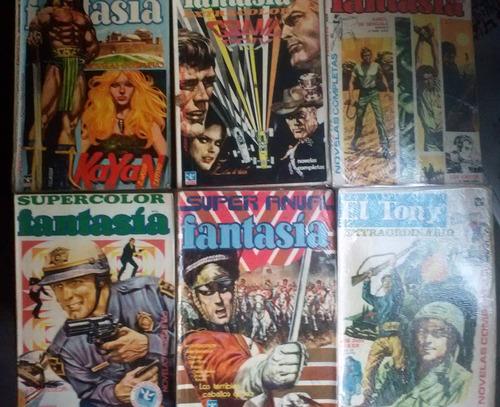 3 revistas- el tony - fantasía - humor- últimos lotes