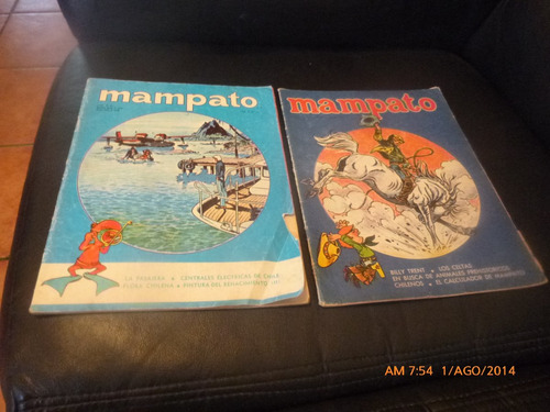 3 revistas mampato  n° 131-140-172 (455