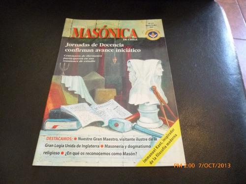 3 revistas masonicas 3/4-5/6-7/8 2004 (258