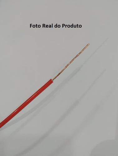 3 rolos cabo fio flexível 2,5mm 100 metros antichamas