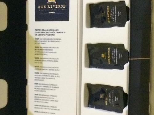 3 saches age reverse  anti rugas lifting botox