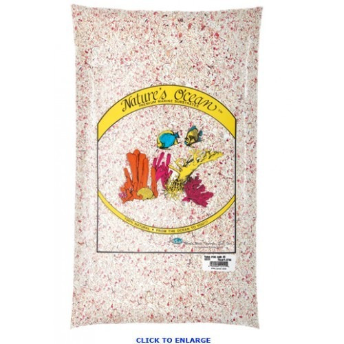 3 sacos de cascalho natures ocean samoa pink sand n 2 9kg !