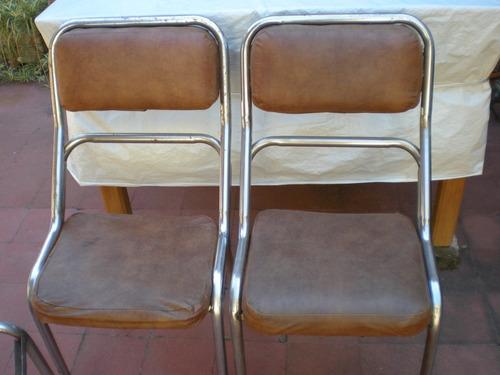 3 sillas retro