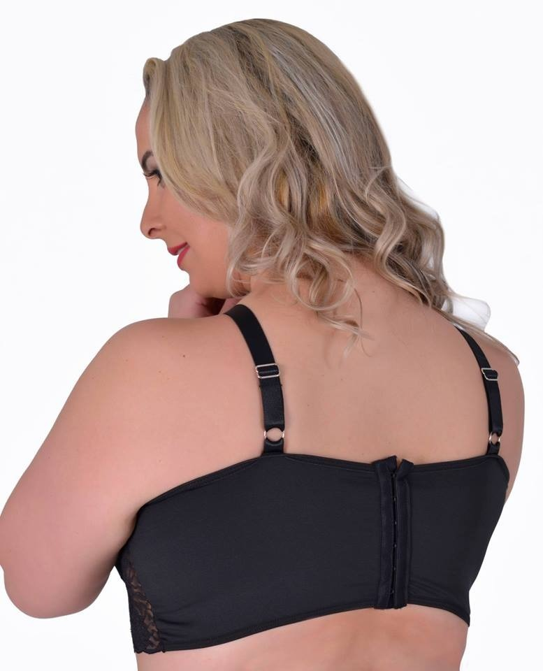 5ed18a110c0 3 soutien sutiã cropped plus size strappy bra renda lingerie. Carregando  zoom.