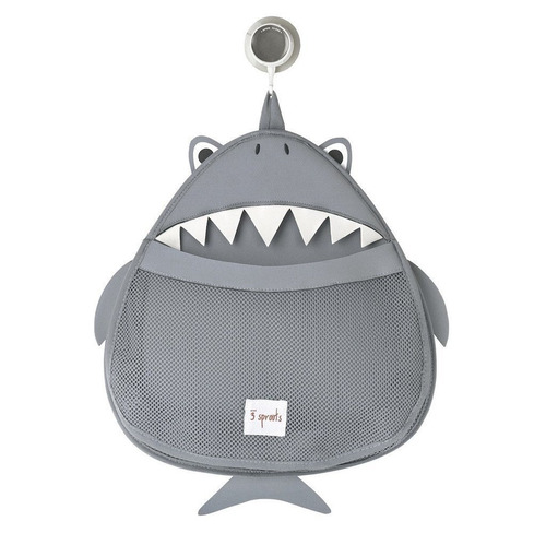 3 sprouts, organizador de juguetes para baño, tiburón - $ 724.43 ... - Organizador De Juguetes Para Bano