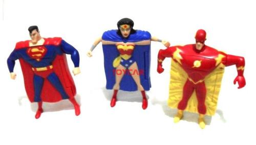 3 super herois dc comics macdonalds 2007