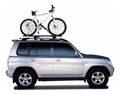 3 suportes teto bicicleta calha transbike eqmax velox bike