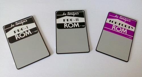 3 tarjetas sonidos para sintetizador roland d-50 550 permuto