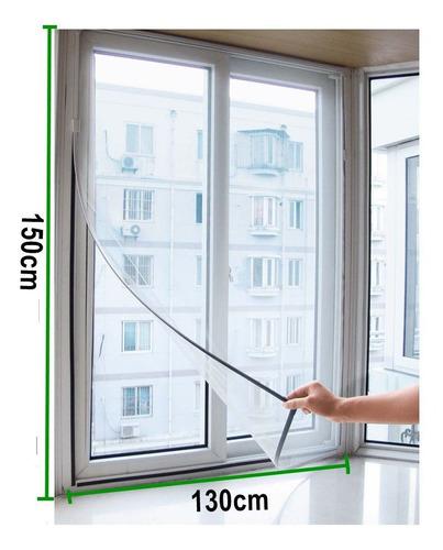 3 telas mosquiteira protetora 150x130 janela inseto mosquito