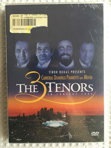 3 tenores en concierto 1994 carreras pavarotti domingo dvd