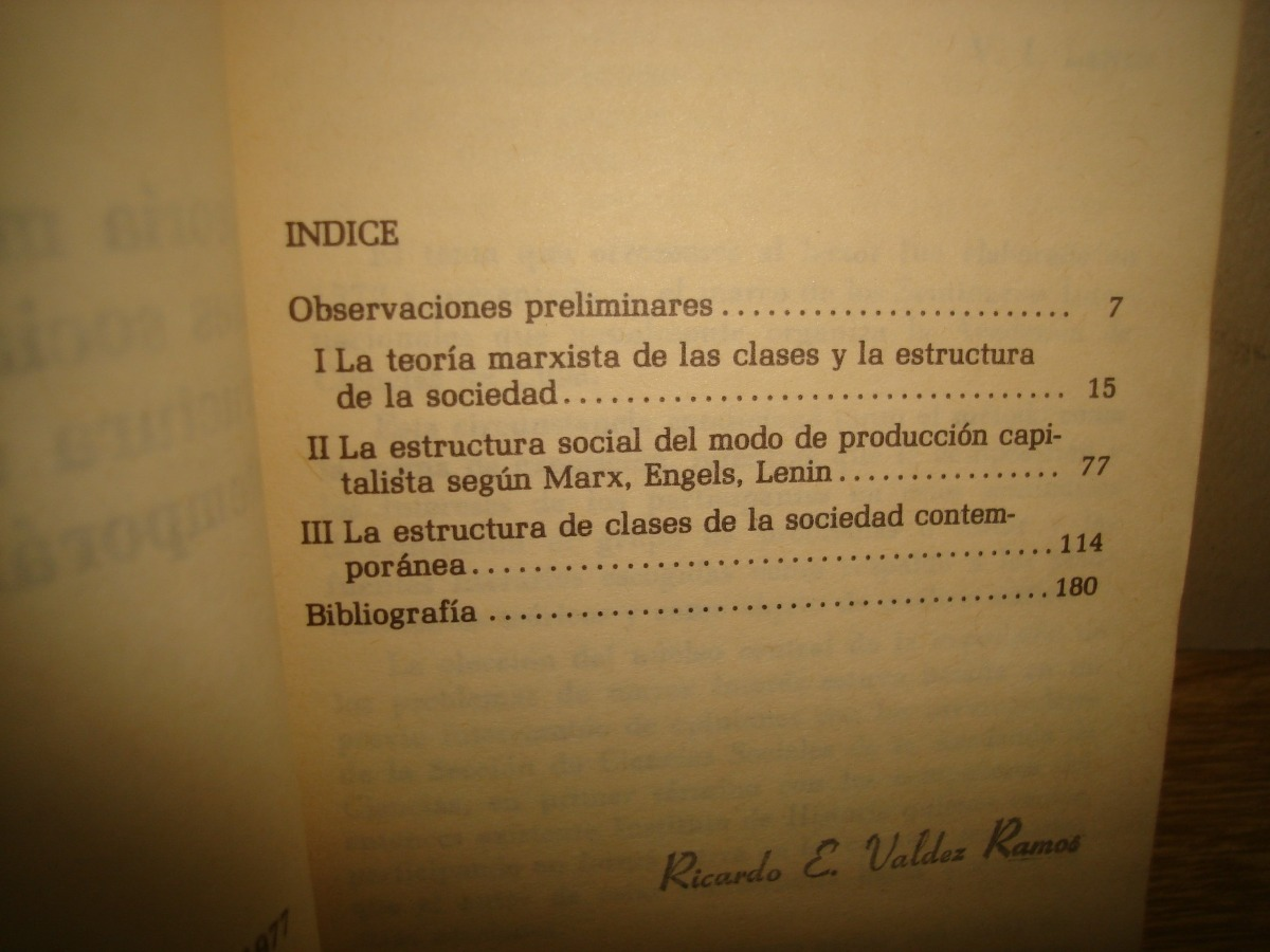 3 Teoría Marxista D Las Clases Sociales Y La Estructura 150 00