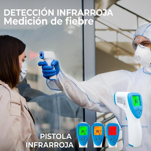 3 termómetros digitales infrarrojo manual registro invima