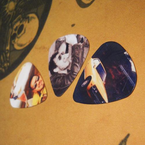 3 uñetas 0,46 mm personalizadas - tu imagen en cada una