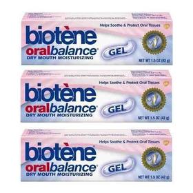3 Unidades Biotene Oral Balance Gel Hidratante P/ Boca Seca
