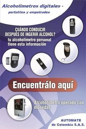 3 unidades de alcoholimetros personales prueba de alcohol