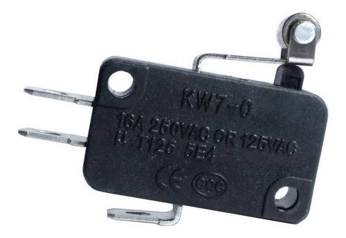 3 unids micro switch haste 13mm roldana 16a 250v ( na / nf )