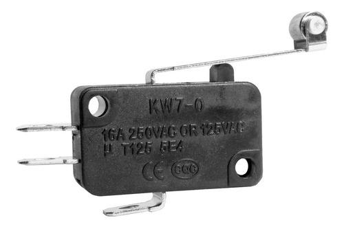 3 unids micro switch haste 29mm roldana 16a 125 / 250v kw7-0