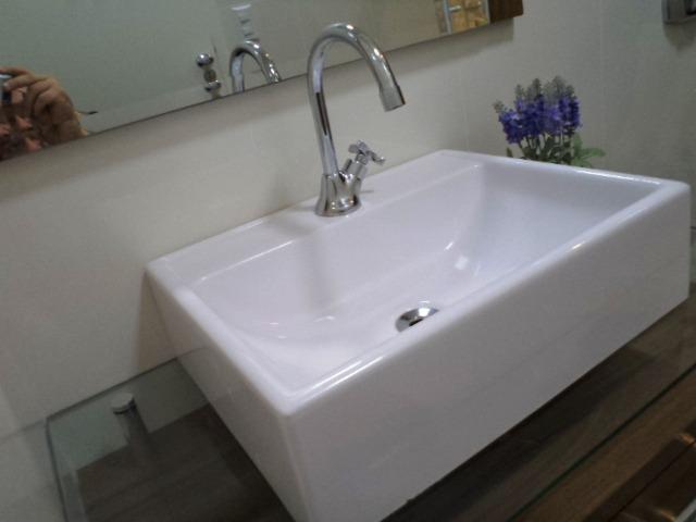 3 Unids Pia De Apoio Moderna Lavatório Para Banheiro  R$ 337,20 em Mercado  -> Pia Banheiro Apoio