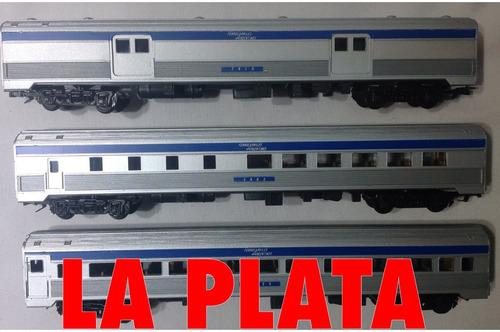 3 vagones marplatenses furgón comedor pasajeros frateschi